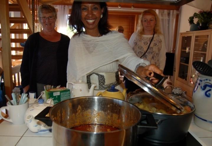 Serverte mat fra Eritrea