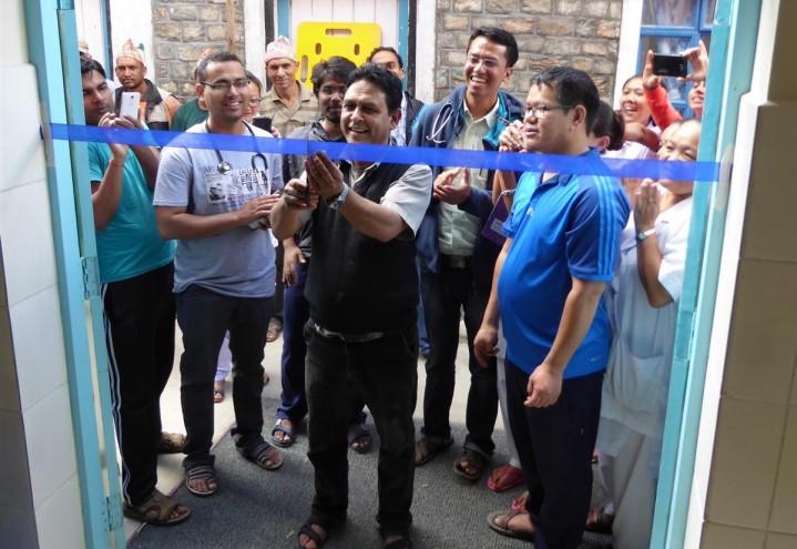 Akuttmottaket åpnet i Okhaldhunga