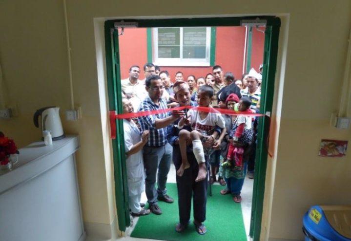 Ny barneavdeling – men bare halv