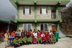 Nytt administrasjonsbygg i Okhaldhunga