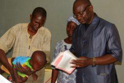 Påskefeiring og dåp